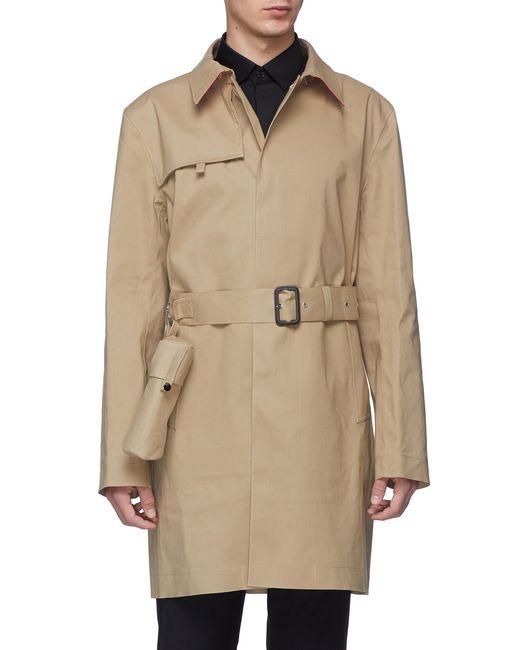 Matthew Miller - Natural Belted Raincoat for Men - Lyst