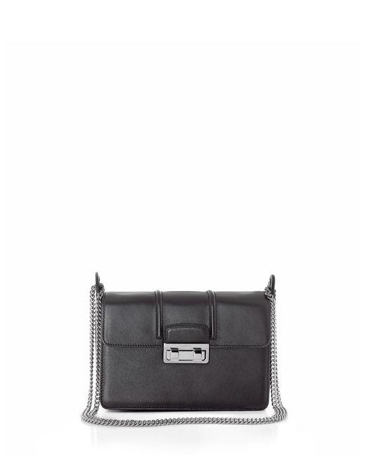 Lanvin | Black Jiji Small Leather Shoulder Bag | Lyst