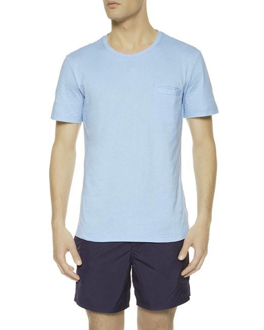 La Perla   Blue T-shirt for Men   Lyst