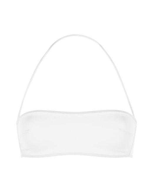La Perla | White Bandeau Bikini Top | Lyst