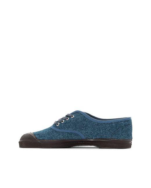 ... Bensimon | Blue Baskets Wool Vintage | Lyst ...