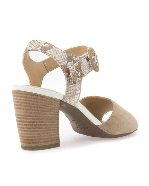GEOX D Eudora C High-Heeled Leather Sandals many kinds of cheap price 9iX7HvT