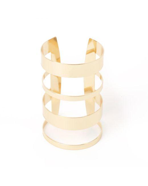 LA REDOUTE | Metallic 4 Ring Metal Bracelet | Lyst