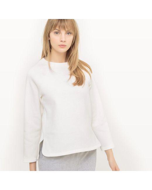 LA REDOUTE | White Sweatshirt | Lyst