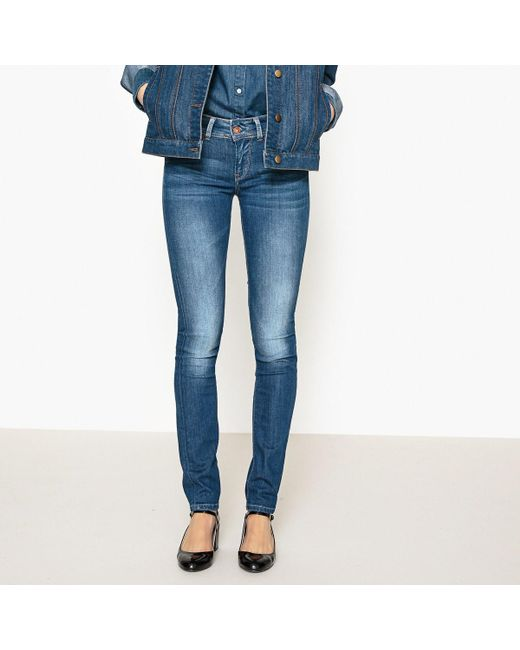 Pepe Jeans - Blue New Brooke Slim Fit Jeans - Lyst