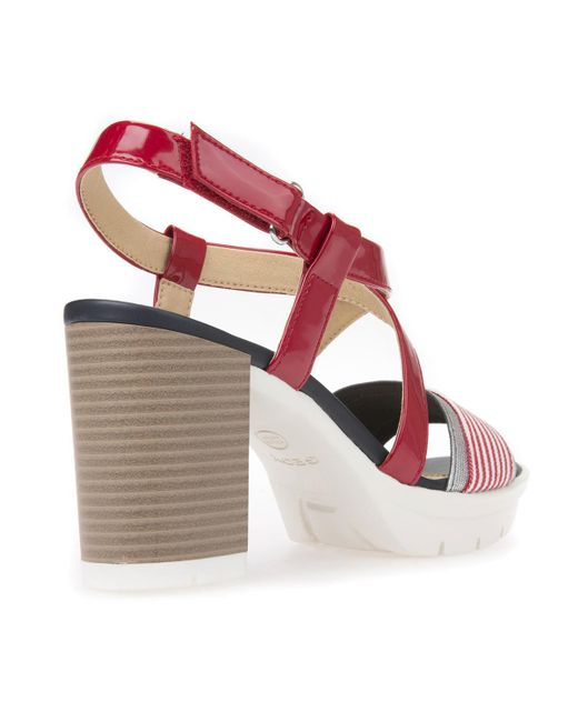 GEOX D Gintare B High Heeled Sandals outlet top quality cheap sale 2015 new clearance browse best seller cheap price fake yxxFRg