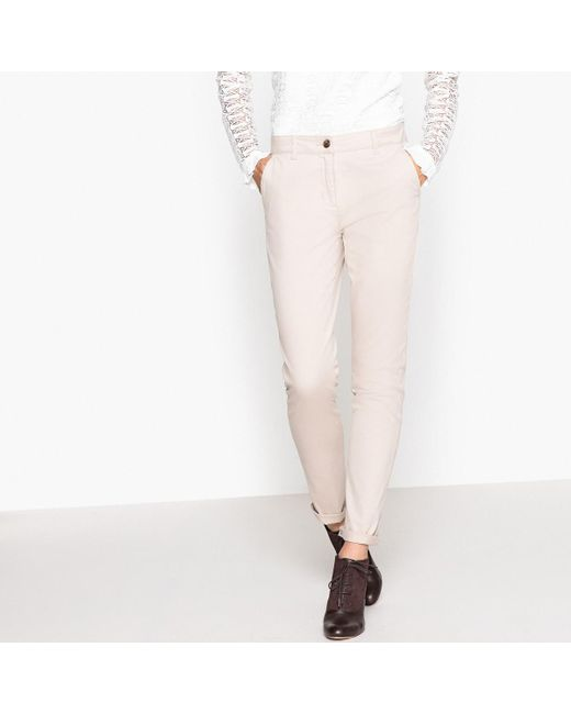 LA REDOUTE | Natural Chinos | Lyst