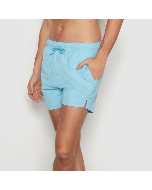 LA REDOUTE | Blue Boxer-style Swim Shorts for Men | Lyst