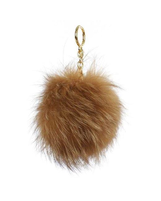 Michael Kors | Xxl Natural Fur Pom Pom Keyring | Lyst