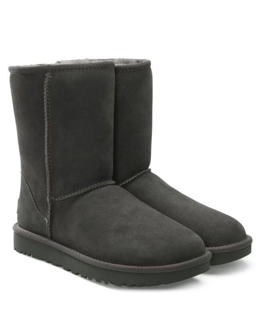 ... Ugg - Gray Ugg Australia Classic Short Ii Stormy Grey Twinface Boot - Lyst ...