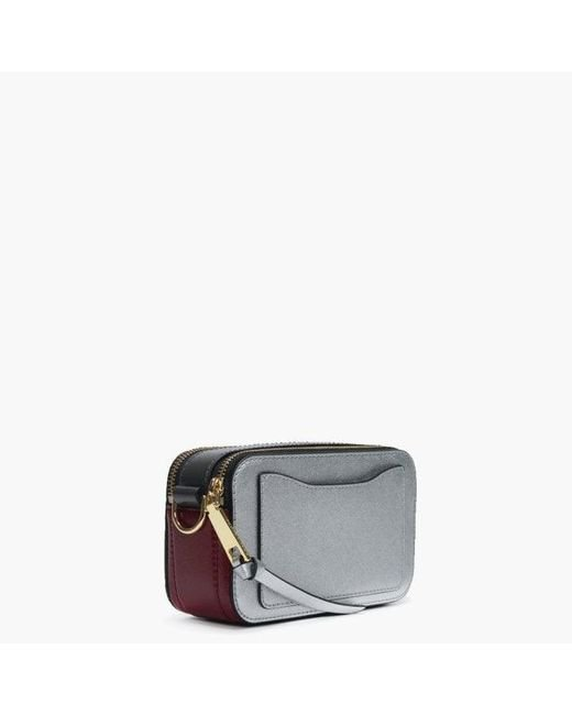 a74b64ba193c Lyst - Marc Jacobs Snapshot Small Camera Bag in Metallic - Save 31%