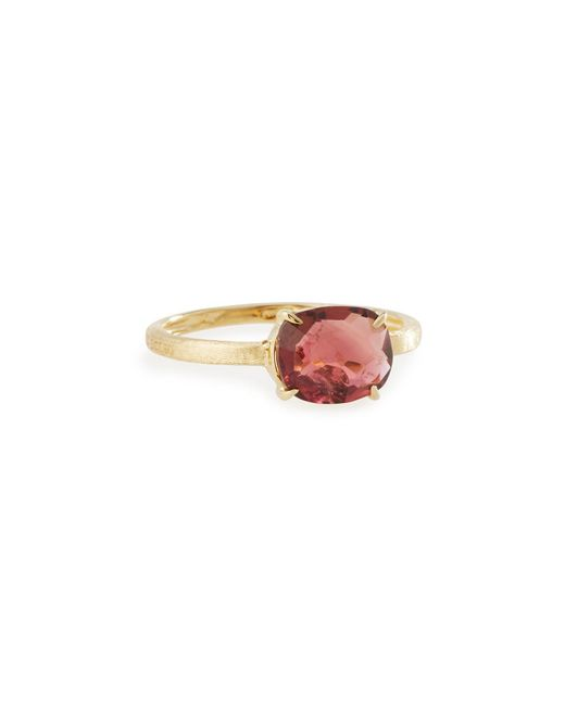 Marco Bicego | Murano 18k Oval Pink Tourmaline Solitaire Ring | Lyst