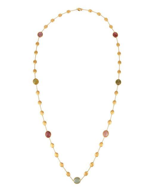 Marco Bicego - Metallic Siviglia 18k Multicolor Sapphire Station Necklace 36l - Lyst