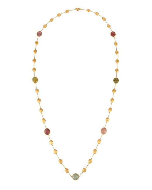 Marco Bicego - Metallic Siviglia 18k Multicolor Sapphire Station Necklace - Lyst