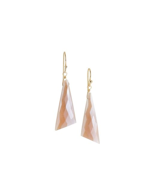 A.V. Max - Multicolor Large Moonstone Drop Earrings - Lyst