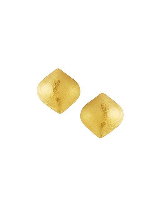 Gurhan - Multicolor 24k Large Clove Puff Button Earrings - Lyst
