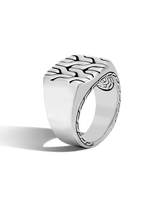 John Hardy - Metallic Men's Classic Chain Ring for Men - Lyst