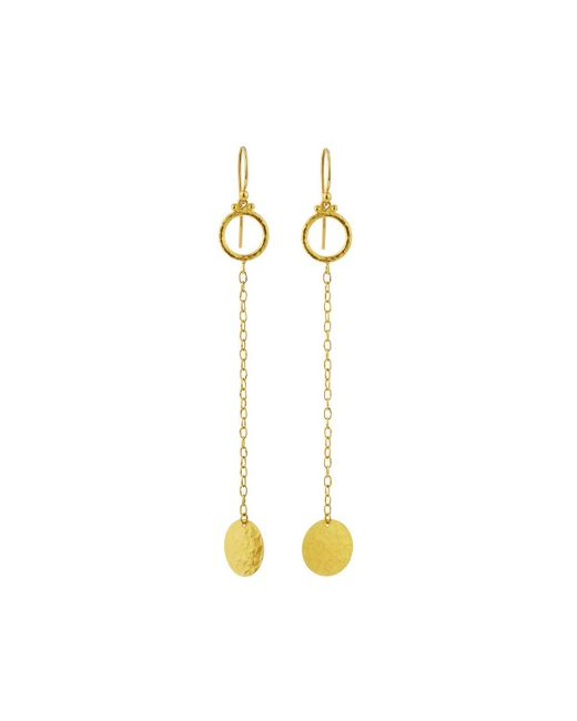 Gurhan | Metallic Lush 24k Long Dangle Earrings | Lyst