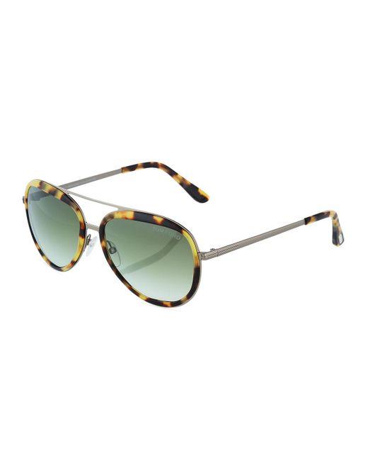 Tom Ford - Multicolor Aviator Metal Sunglasses - Lyst