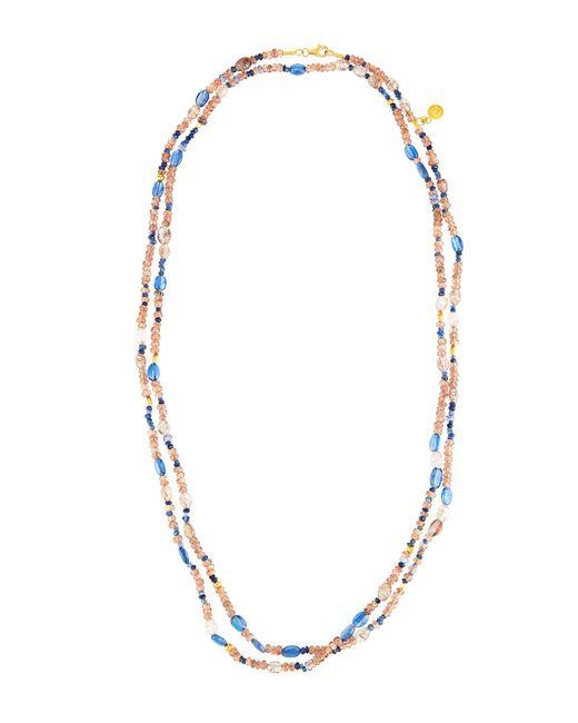 Gurhan - Metallic Extra-long Multi-stone Single-strand Necklace - Lyst