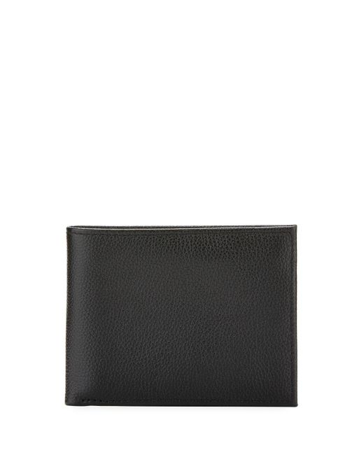 3375af71a73c Neiman Marcus - Black Rfid Wallet With Nonremovable Passcase for Men - Lyst  ...