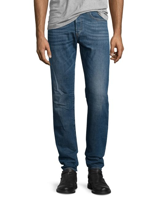 DIESEL | Blue Buster L32 Faded Straight-leg Jeans for Men | Lyst