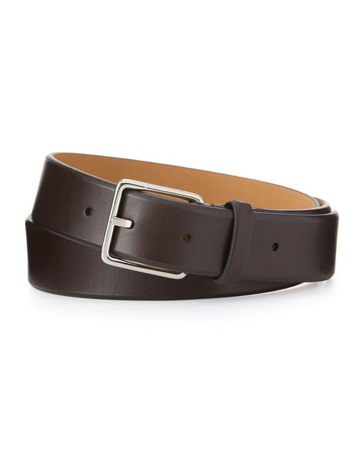Cole Haan   Brown Pebbled Leather Belt for Men   Lyst