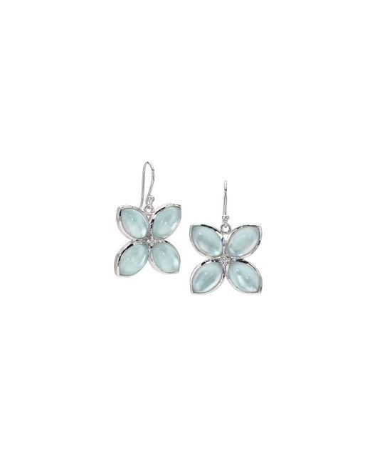 Elizabeth Showers | Metallic Quad Marquis Drop Earrings | Lyst