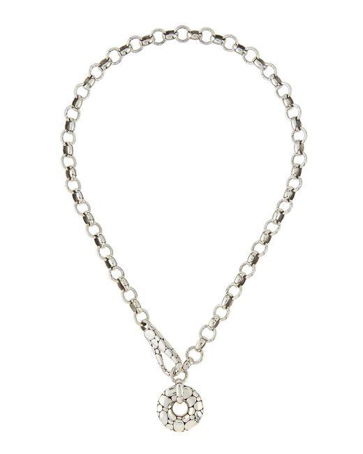 John Hardy | Metallic Silver Kali Link Necklace | Lyst