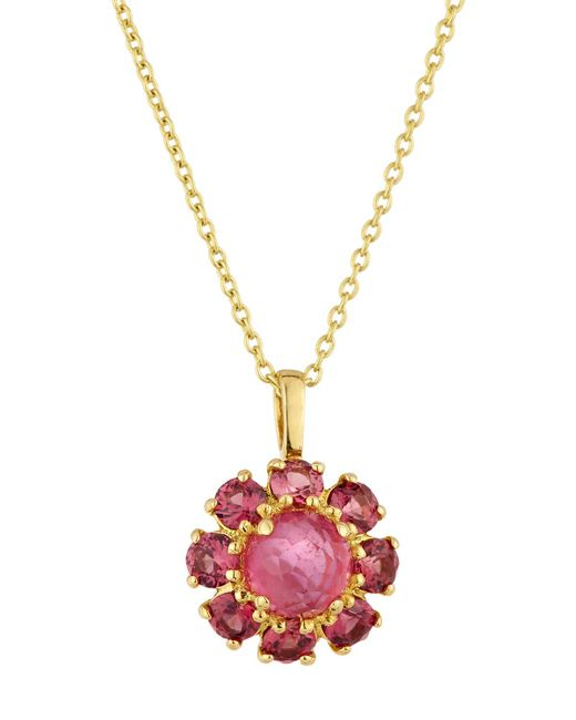 Ippolita | Pink 18k Lollipop® Mini Flower Pendant Necklace | Lyst