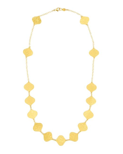 Gurhan | Metallic 24k Clove Flake Station Necklace | Lyst