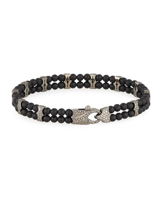 Stephen Webster | Men's Rayman Black Onyx Beaded Bracelet for Men | Lyst