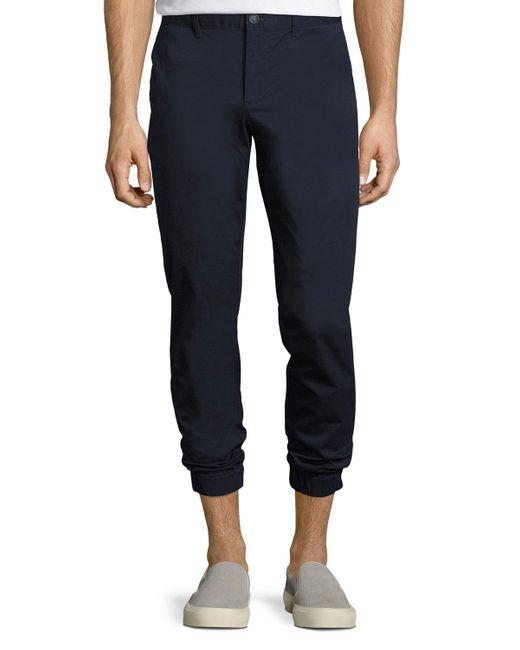 Original Penguin   Blue Lightweight Cotton Jogger Pants for Men   Lyst