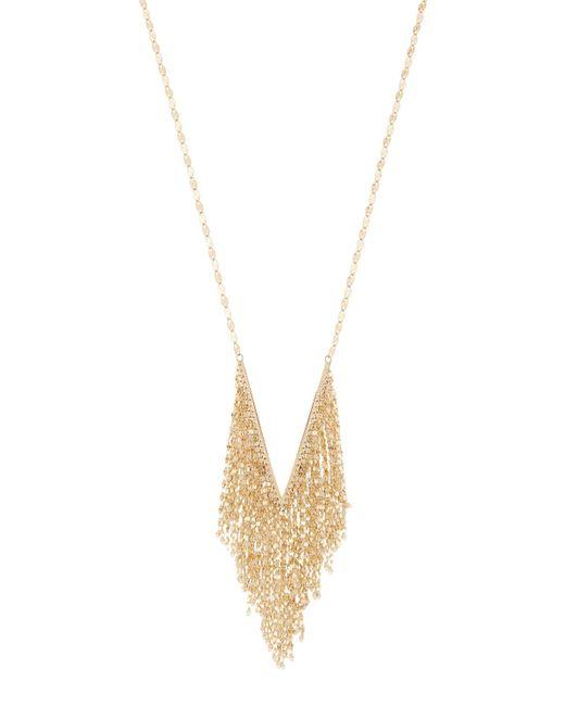 Lana Jewelry | Metallic Mega Fringe Pendant Necklace | Lyst