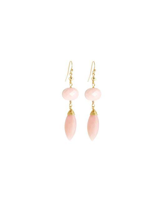 Nakamol | Multicolor Quartz Double-drop Earrings | Lyst