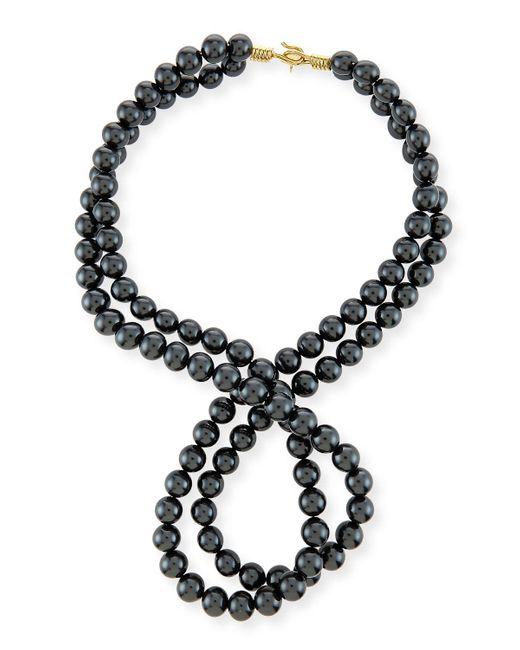 Stella McCartney | Multicolor Swarovski® Crystal-pearl Two-strand Necklace | Lyst