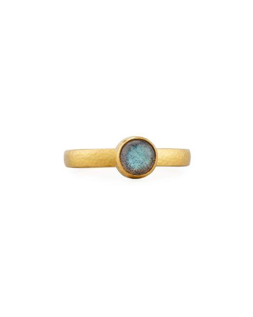 Gurhan | Multicolor Amulet Hue 24k Labradorite Ring | Lyst
