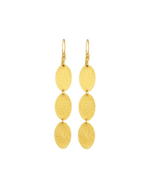 Gurhan | Multicolor Mango 24k Triple-drop Earrings | Lyst