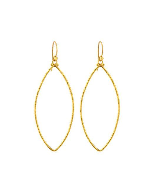 Gurhan | Metallic Hoopla 24k Large Marquise Drop Earrings | Lyst