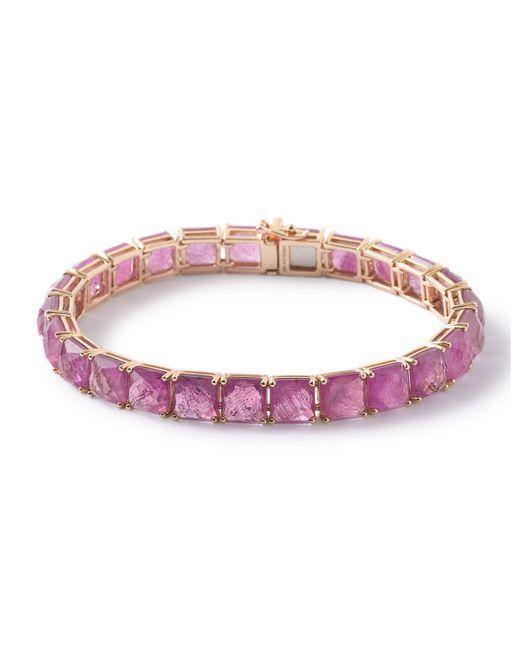 Ippolita | Red 18k Rock Candy Tennis Bracelet In Composite-ruby Doublet | Lyst