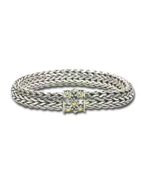 John Hardy - Multicolor Large Oval-chain Bracelet - Lyst