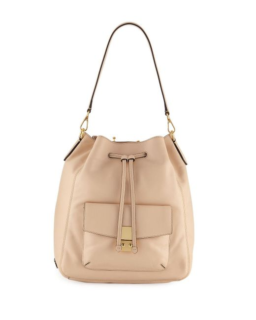 Cole Haan - Natural Allanna Smooth Leather Backpack - Lyst