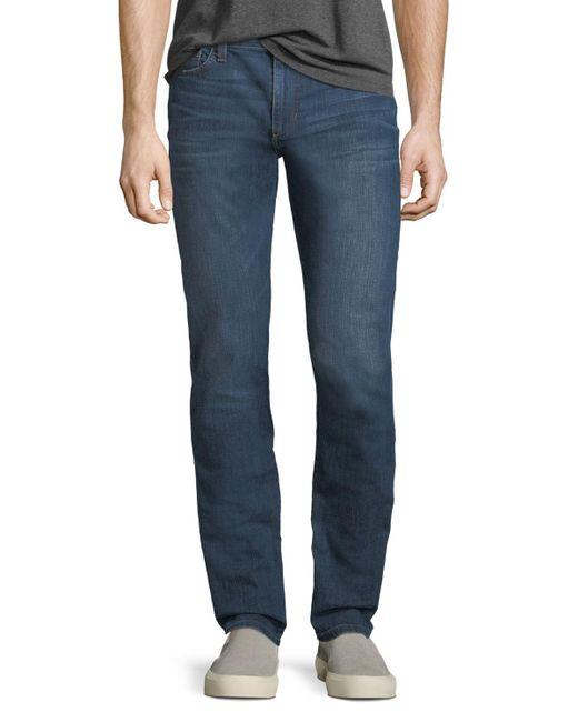 Joe's Jeans - Blue Slim-fit Straight-leg Denim Jeans for Men - Lyst