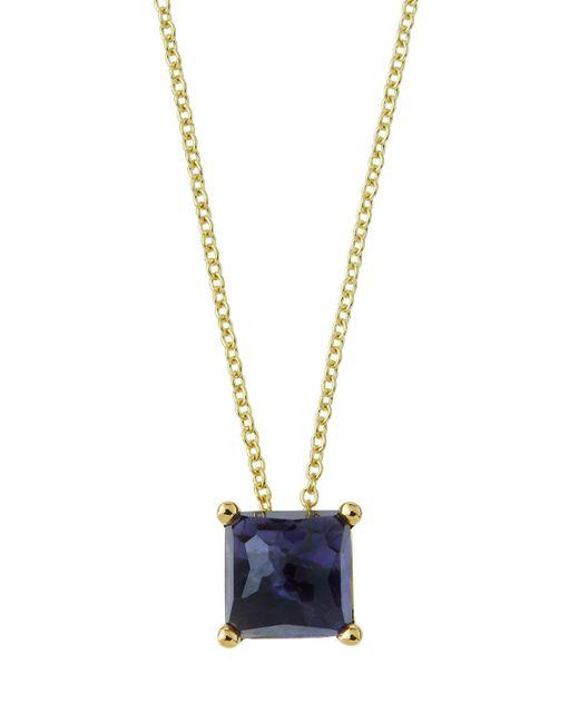 Ippolita | Purple 18k Gold Rock Candy Mini Single Square Sliding Pendant Necklace In Iolite | Lyst