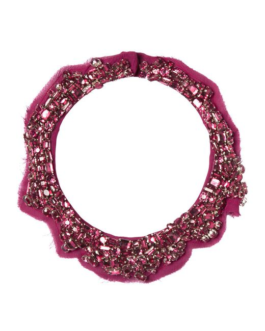 Mignonne Gavigan - Purple Alice Beaded Collar Necklace - Lyst
