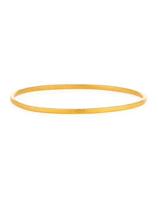 Gurhan Hoopla Thin Bangle Bracelet VytKeSQ
