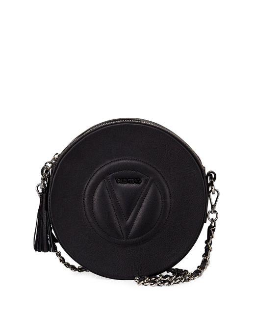 Valentino By Mario Valentino - Black Passy Sauvage Leather Crossbody Bag -  Lyst ... e72b2d47b7aae