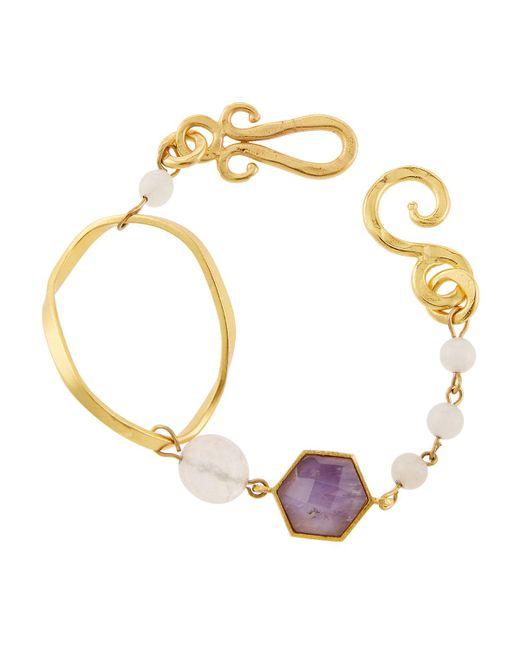 Stephanie Kantis - Purple Organic Mixed Bracelet - Lyst