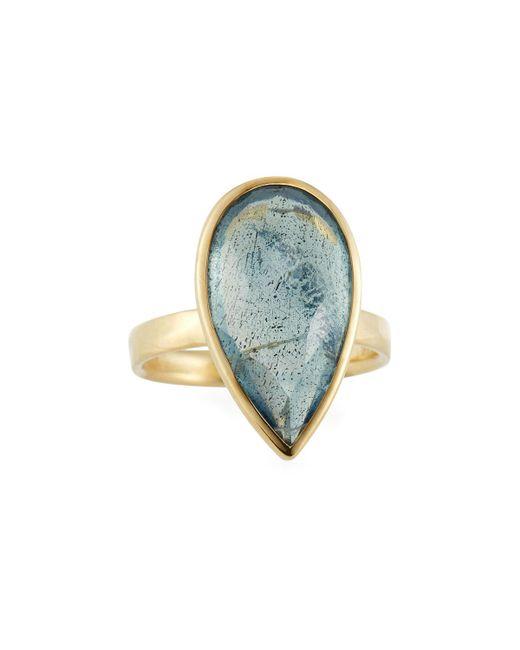 Ippolita - Multicolor 18k Rock Candy® Medium Teardrop Ring W/ Topaz & Labradorite Doublet - Lyst