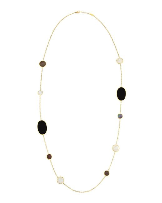 Ippolita | Metallic 18k Gold Polished Rock Candy Necklace In Jazz | Lyst